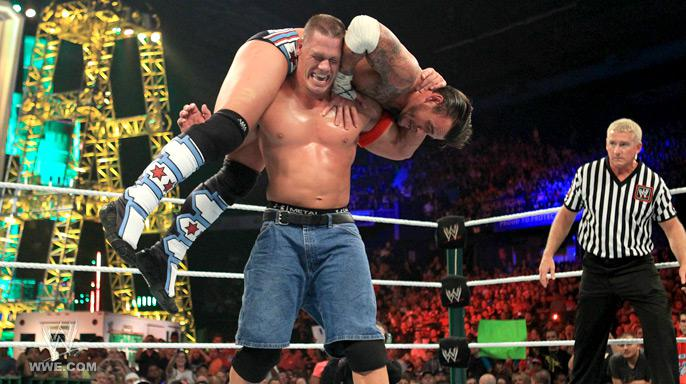 CM Punk vs John Cena, Money in the Bank - WWE Money in the Bank 2011 PPV (Watch Now)