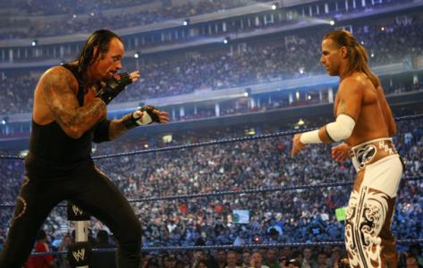WM25 Undertaker VS Shawn Michaels