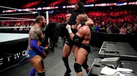 WWE-Payback-2014-Review-Evolution-Vs-The-Shield-Batista-Triple-H-Randy-Orton-Roman-Reigns