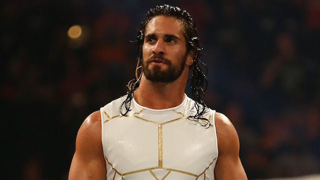 NEW YORK, NY - AUGUST 23:  Seth Rollins enters the ring at the WWE SummerSlam 2015 at Barclays Center of Brooklyn on August 23, 2015 in New York City.  (Photo by JP Yim/Getty Images)