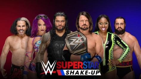Shake Up SPOILER, avagy akik biztosan nem kerülnek át a SmackDownra ma éjjel