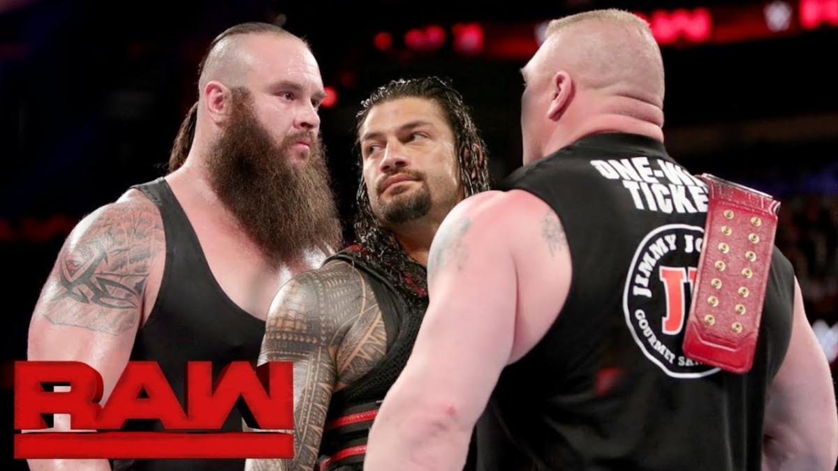 Dilemma keletkezett arról, hogy ki győzze le Brock Lesnart?