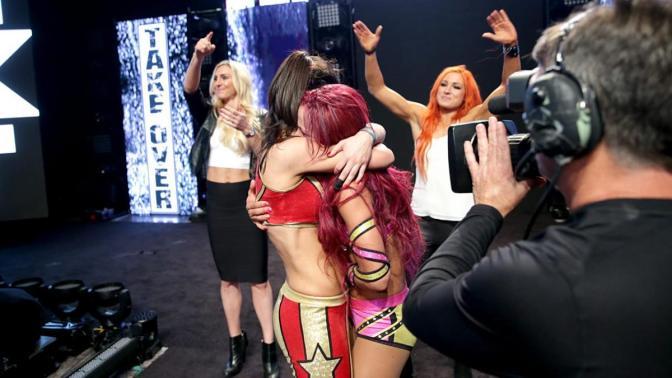 Sasha Banks is visszatérne az NXT-be
