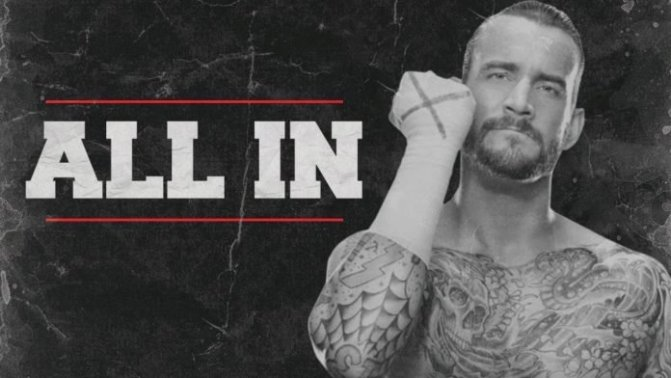 CM Punk az All In-en?