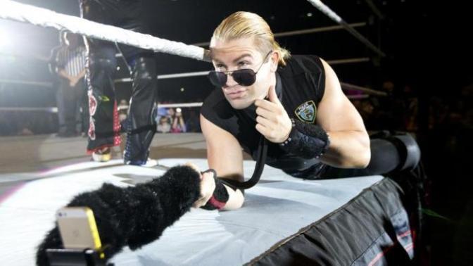 Tyler Breeze is visszatért az NXT-be