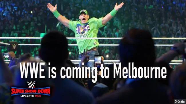 The Undertaker vs. Triple H; szupermeccsel fűszerezett szupershow Ausztráliában