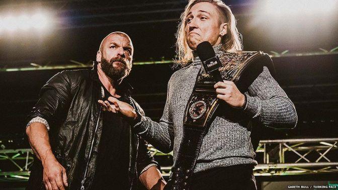 Triple H szerint Pete Dunne világbajnok-esélyes lehet a WWE-ben