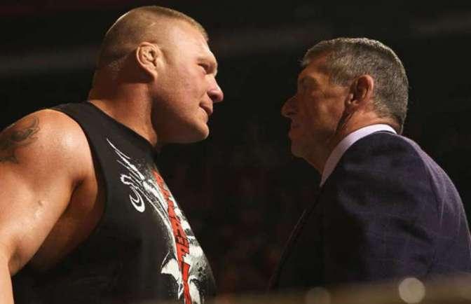 Mik  Vince McMahon tervei Brock Lesnar