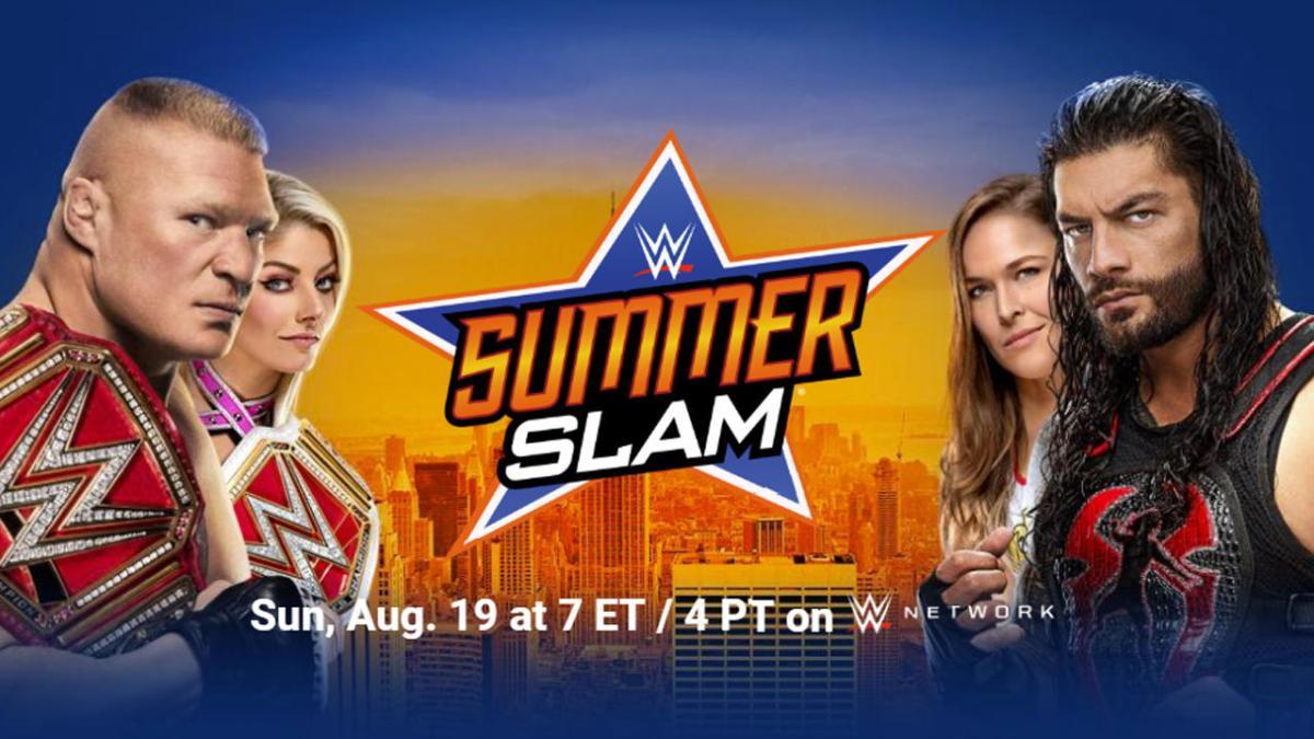 WWE SummerSlam 2018. - Előzetes