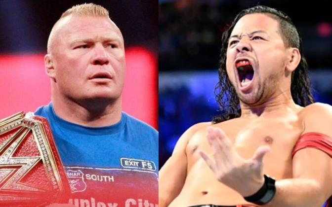 Nakamura – egyszer már meggyűlt a bajom Lesnar-ral!