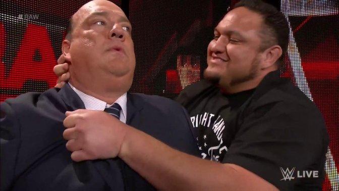 Samoa Joe szívesen lenne Paul Heyman Guy!