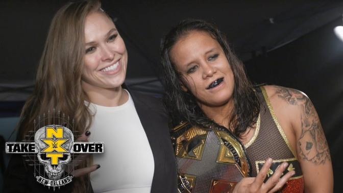 Talán Shayna Baszler érdeme is, hogy Ronda Rousey a WWE-ben kötött ki