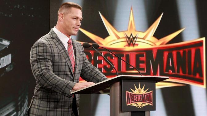 John Cena ott lesz a WrestleMania-n!