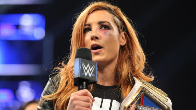 Becky a WrestleMania 35 főmeccsében köthet ki
