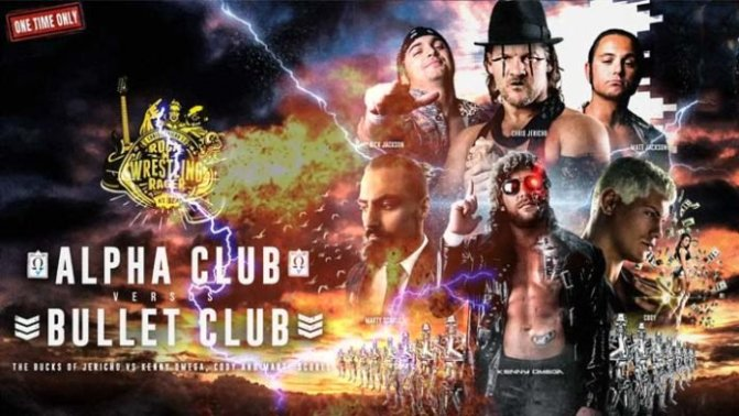 Jericho Cruise: Alpha Club vs. Bullet Club – FULL MATCH!