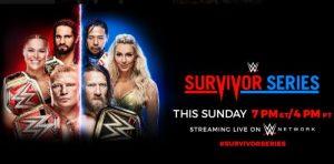 WWE Survivor Series 2018. - Előzetes