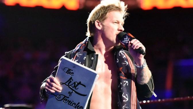 Chris Jericho visszavonultatja a méltán híres listát