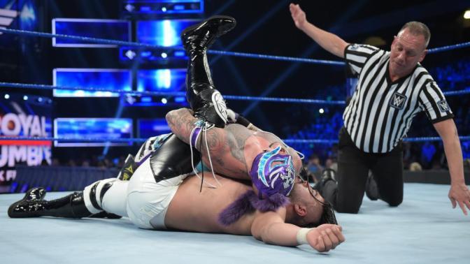 Újabb Mysterio versus Andrade meccs, de ezúttal már kikötéssel!