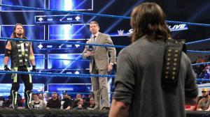 SmackDown LIVE Összefoglaló, január 22. - Mr McMahon kontrollál