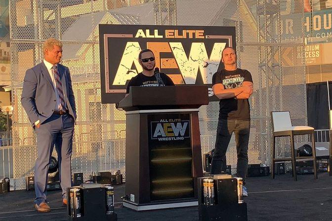 Az AEW 20 éve nem látott konkurens lehet a WWE-nek?!