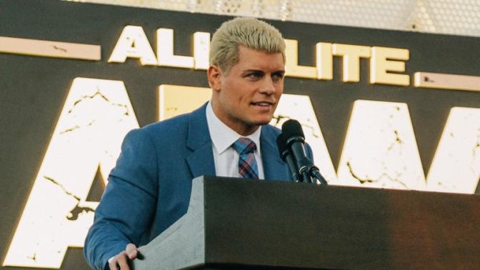 Cody biztosít, hogy nem a kiöregedett veteránokra fáj majd az AEW foga