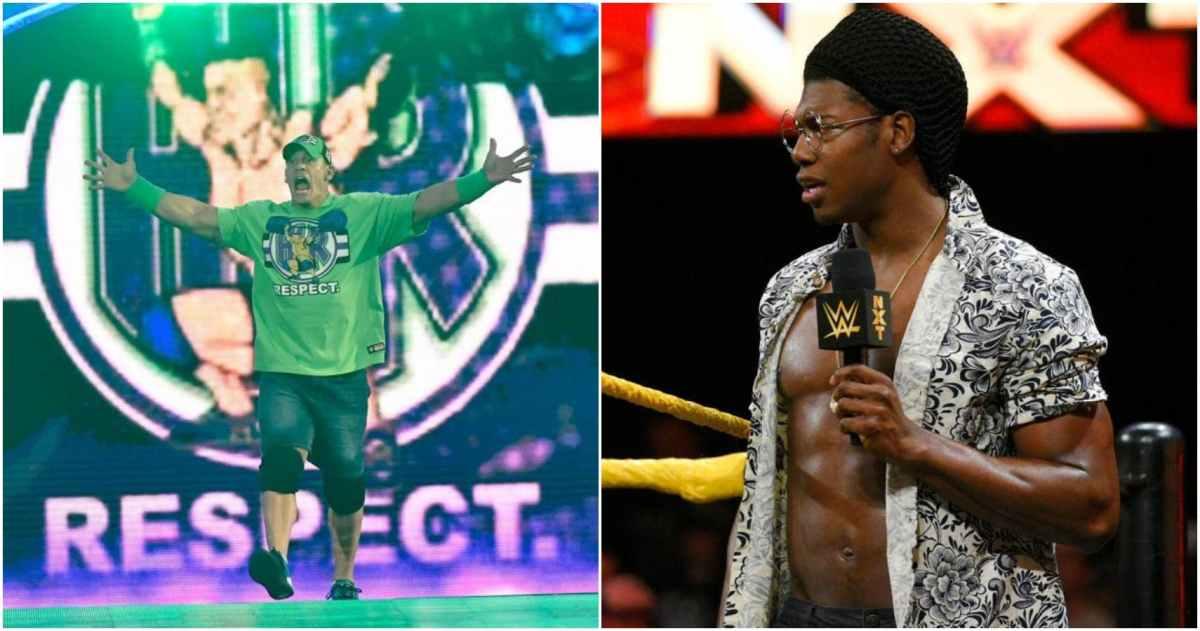 Velveteen Dream biztos a John Cena elleni mérkőzésében