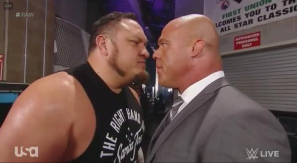 Kurt Angle véleménye Samoa Joe helyzetéről